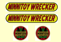 M252   MINNITOYS Wrecker DECAL SET